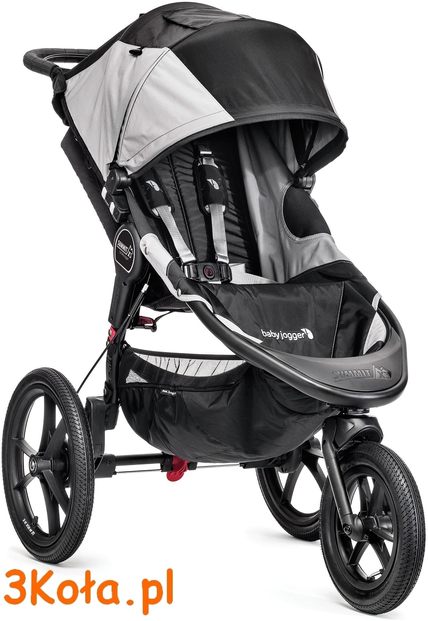 Baby Jogger Summit X3, kolor siedziska Black